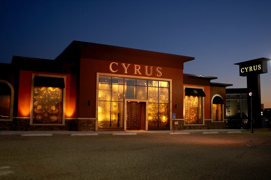 facade of the Cyrus Artisan Rugs flagship store
