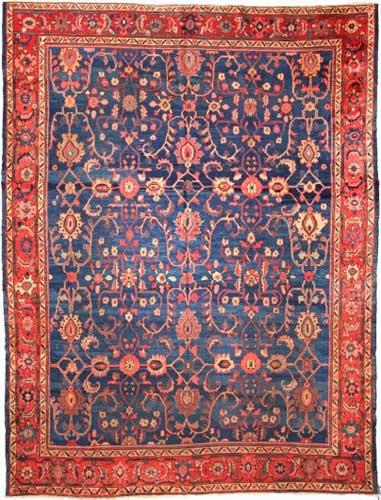 the Cyrus Artisan Antique Persian Mahal Rug