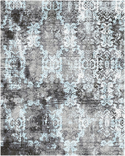 Cyrus Artisan Vintage Reserve VC-03 11288 gray hand-knotted transitional rug