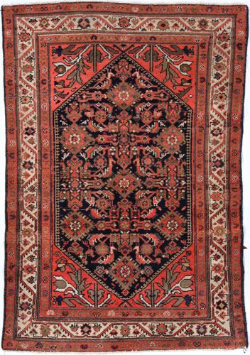 the Cyrus Artisan Antique Persian Malayer rug