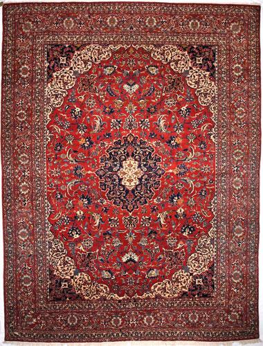 the Cyrus Artisan Antique Persian Isfahan rug