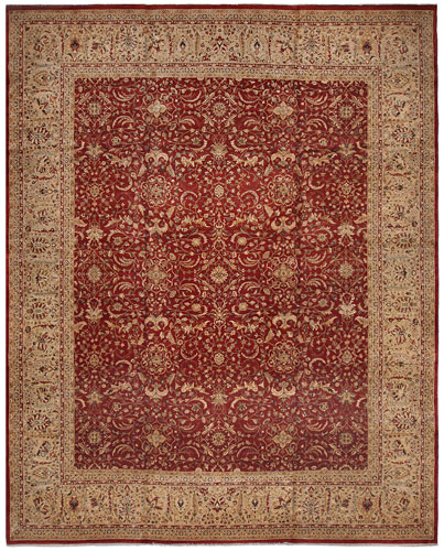 the Cyrus Artisan Pakistani Tabriz rug