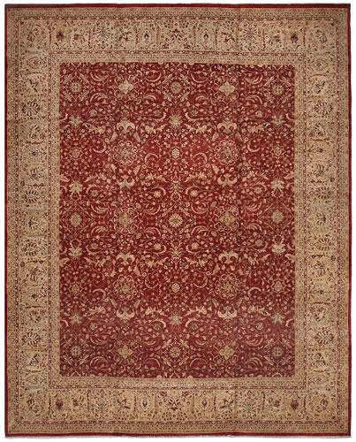 the Cyrus Artisan Pakistani Tabriz rug