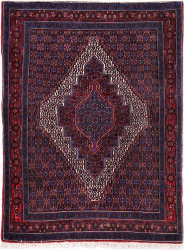 the Cyrus Artisan Persian Senneh rug