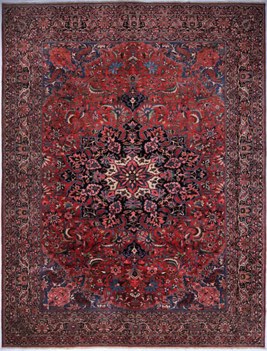 the Cyrus Artisan Antique Persian Bakhtiari rug