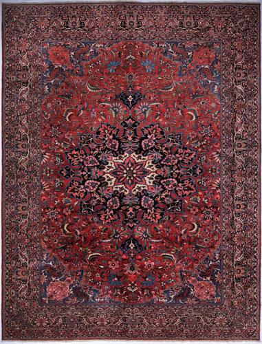 the Cyrus Artisan Antique Persian Bakhtiari rug