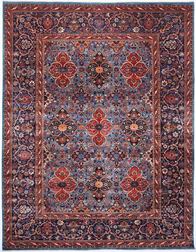 the Cyrus Artisan Afghani Kashan rug