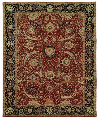 the HRI Antique Heriz rug antique Persian rugs