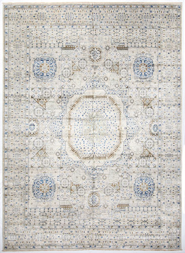 the Cyrus Artisan Afghani Mamluk rug