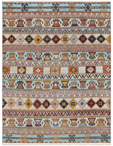 the Cyrus Artisan Creek multicolor rug