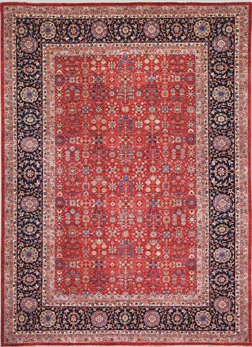 the Cyrus Artisan Afghani Bakhtiari rug