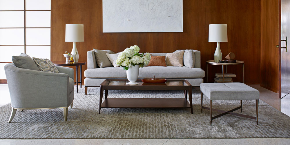 decorating with standard rug size living room