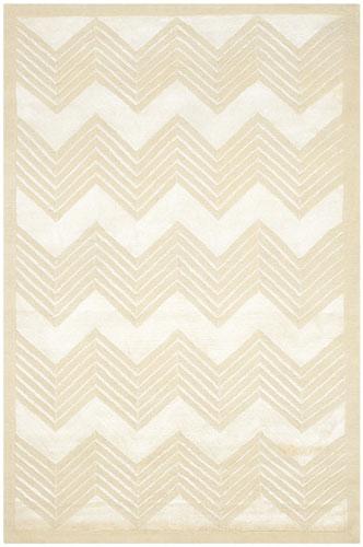 the Ralph Lauren Monroe Chevron rug