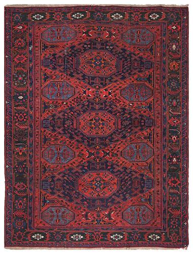 the Cyrus Artisan Antique Russian Soumak rug