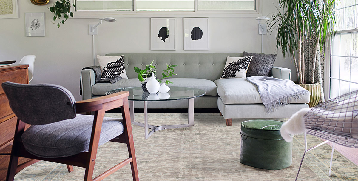 decorating your home with distressed rugs