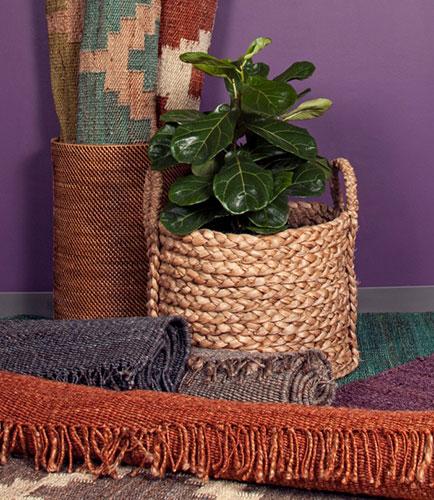 natural rug materials