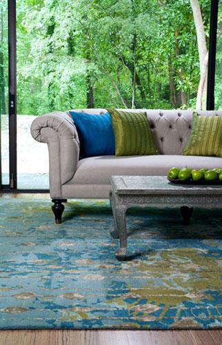 Outdoor rug to elevate patio, porch, or sun room