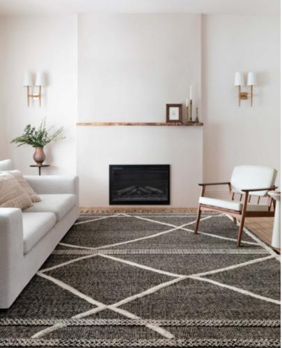 Loloi Rug Iman area rug with tassel fringe