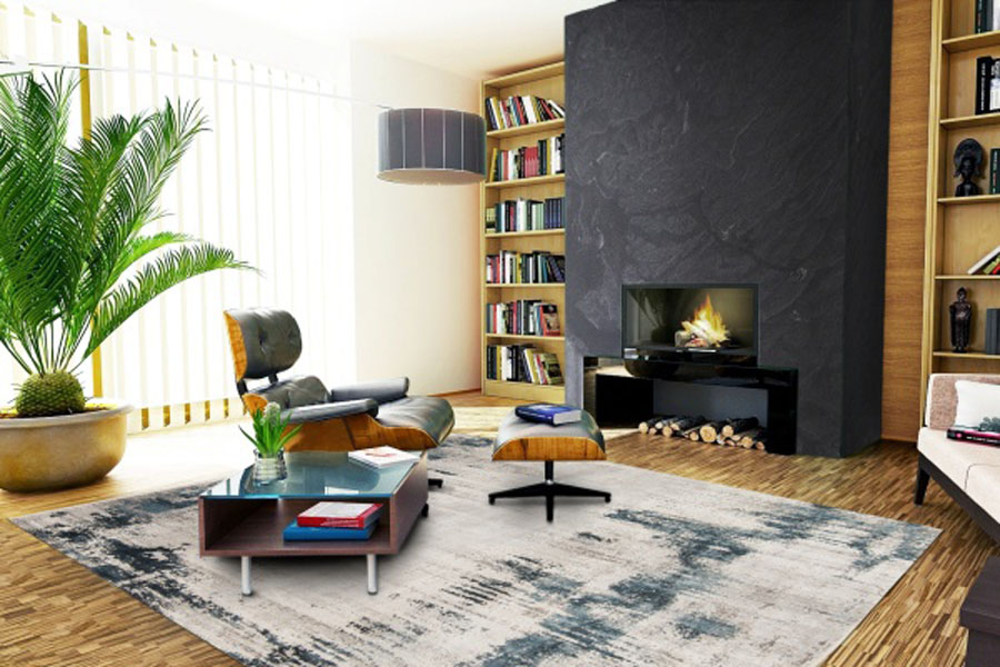 layered look for reading room