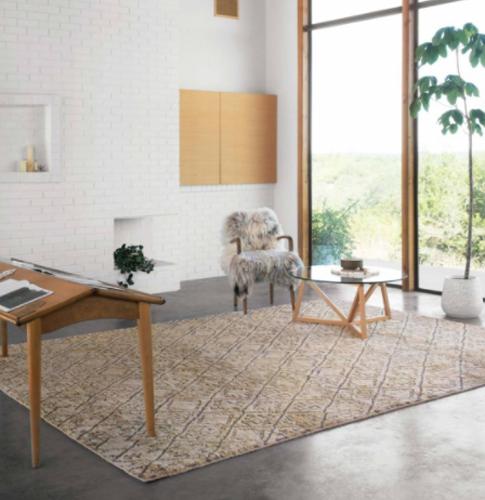Loloi Iman Ima-02 tribal texture rug