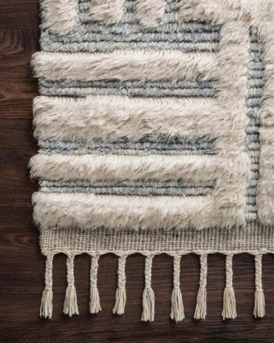 Loloi Khalid rug with tassel fringe