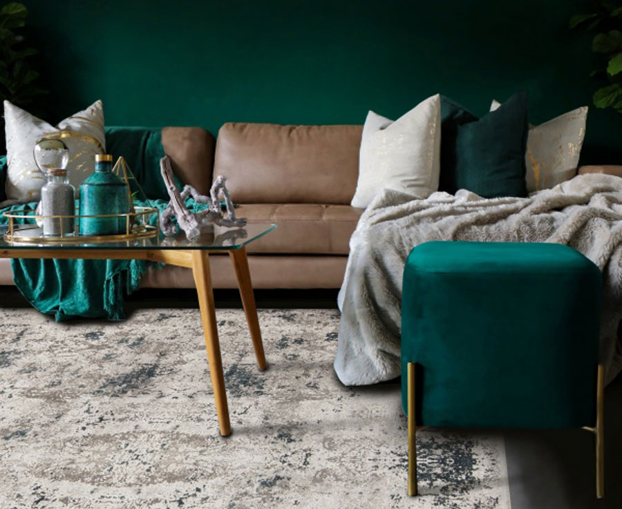 jade accent color for Asian interior