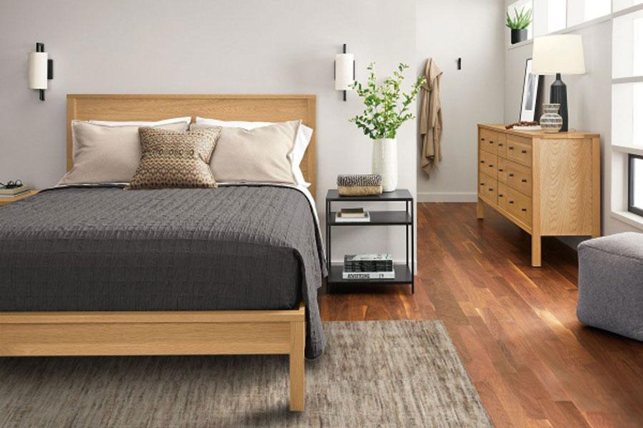 Japanese or Korean inspired bedroom